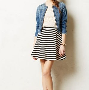 Anthro Stripeswing skirt by Greylin